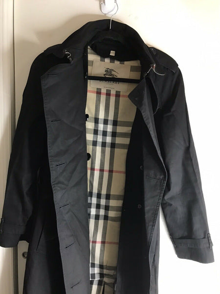 BURBERRY Women's Trench Coat size 6 Needs Repair