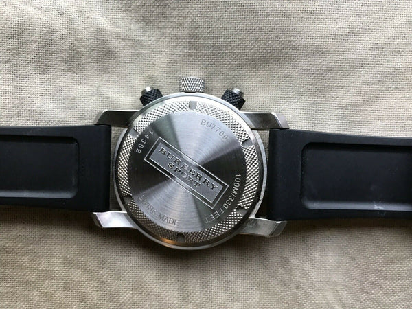 BURBERRY Brit Black Sportswatch  Unisex