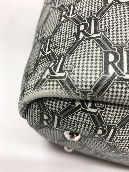Ralph Lauren All over logo tote
