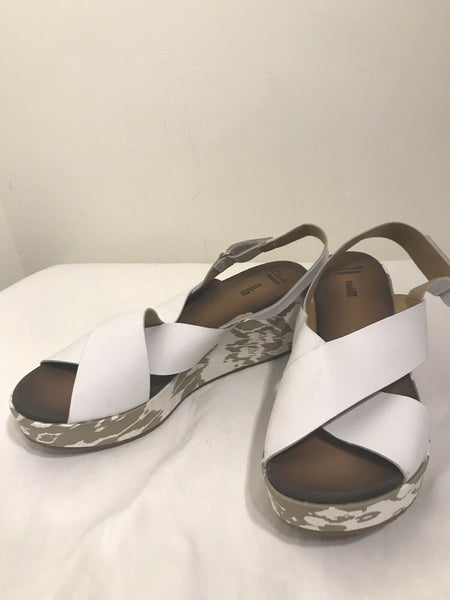 CLARKS Soft Cushion Wedges-size US 9.5