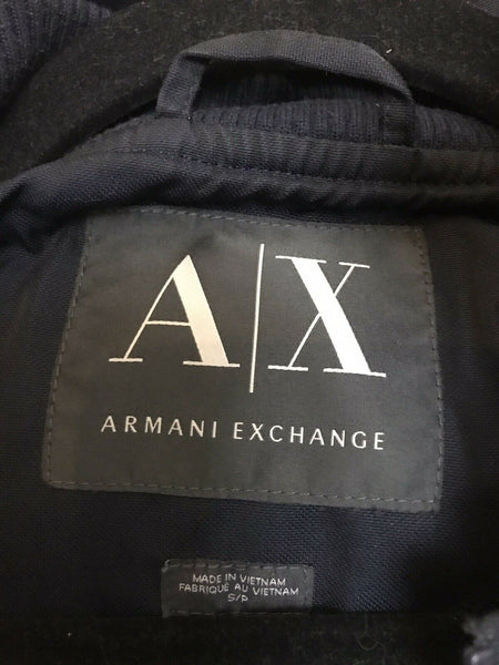 Armani Exchange Womens Navy Quilted Jacket size small