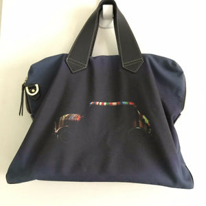PAUL SMITH Navy Fabric Messneger Bag