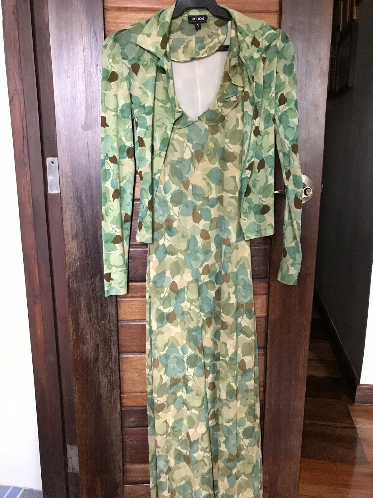 KOOKAI Vintage Dress W/ Cardigan Size 1