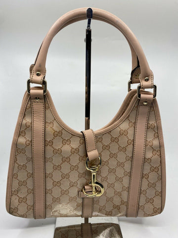 GUCCI Pink Jackie O hobo bag