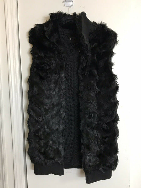 JOHN JOHN LAB Faux Fur Vest One Size
