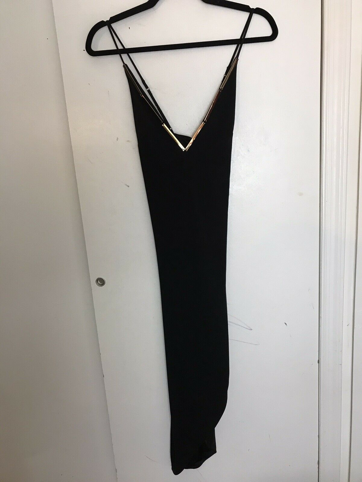 NWT BEBE Black Dress