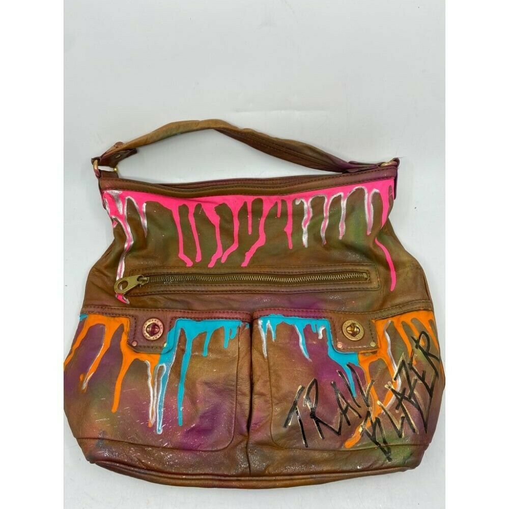 Marc Jacobs Customized with Multi Color and Trailblazer Graffiti