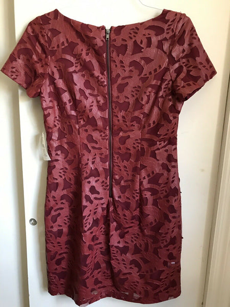 NWT Alexia Admor Burgundy Dress Medium