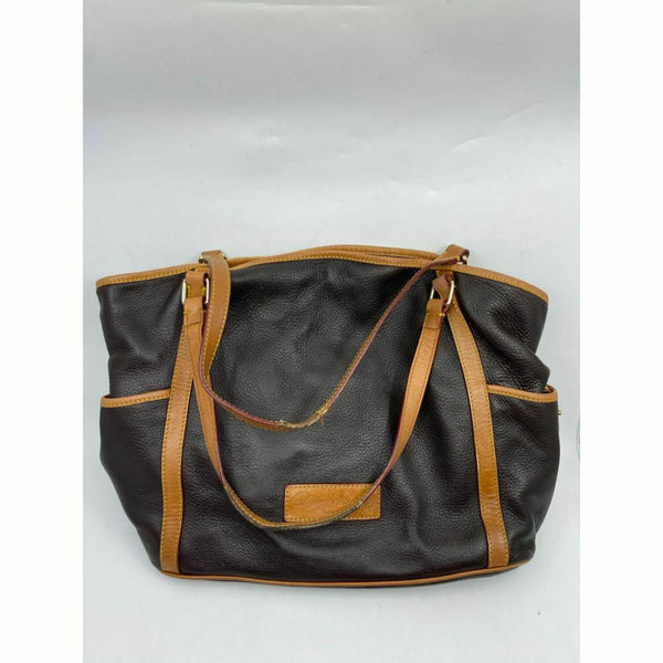 DOONEY & BOURKE Brown Large Leather Tote Bag