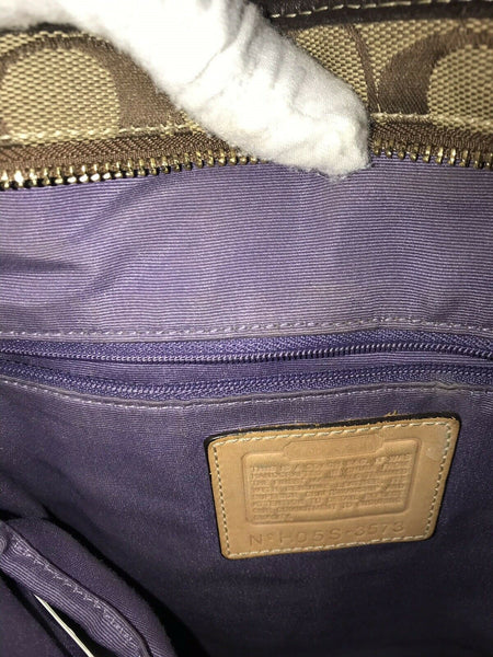 COACH Multi-fabric Patch Work Shoulder Bag