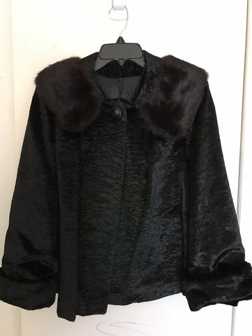 Persian Lamb Fur Coat size 6