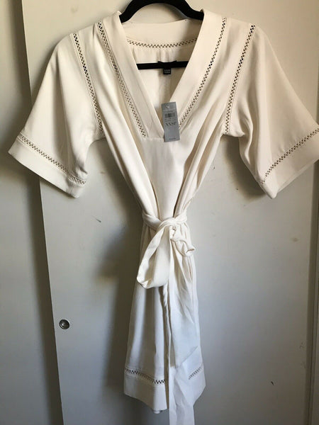 NWT! Ann Taylor White Dress XXSP Msrp $149