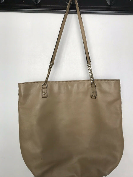 Micheal Kors Brown Leather Tote Bag