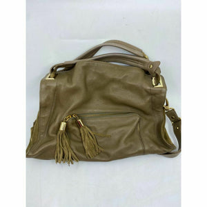 Sandro Brown Leather Shoulder Bag