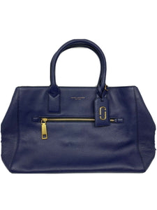 Marc Jacobs Navy Large Leather Tote bag