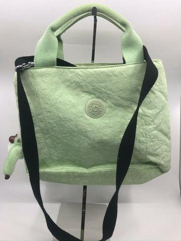 Kipling Pastel Green Medium Size Crossbody Bag