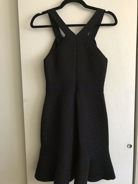 REBECCA TAYLOR Black Dress Sz 0