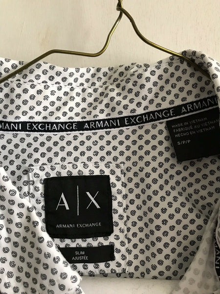 Armani Exchange Women's Long Sleeve Woven Sz Small