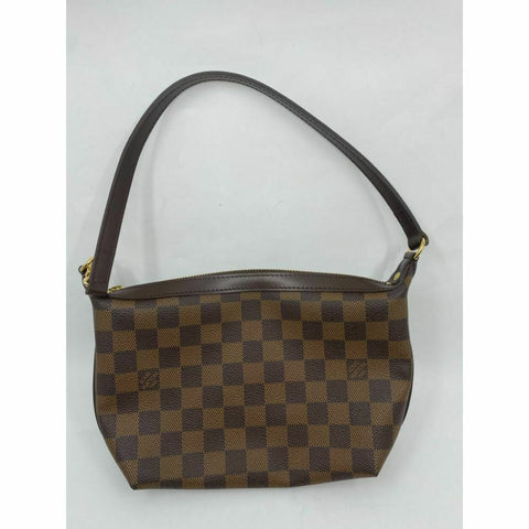 LOUIS VUITTON Damier Brown Mini Pouch