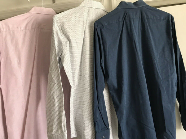 SAKS FIFTH AVE Lot Of 3 Mens Long Sleeves small