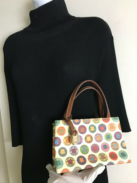 Dooney & Bourke Multi Color Circle Small Purse