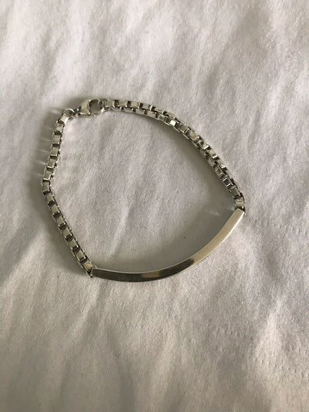 TIFFANY &. Co ID Silver bracelet