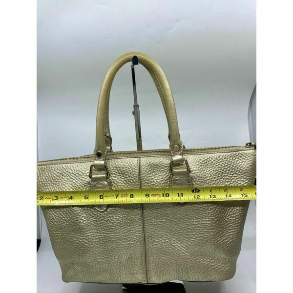 Cole Haan w/ Customized Appliqués Large Tote Bag Gold