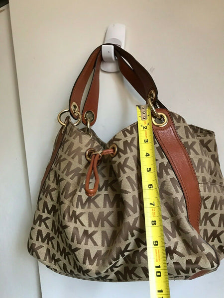 Michael Kors Jacquard Fabric Tote Bag