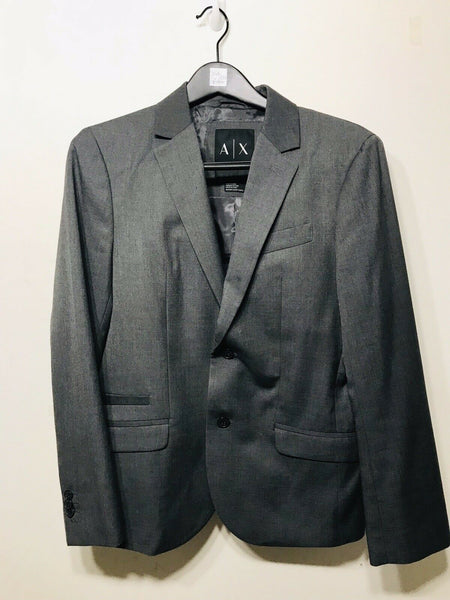Armani Exchange Grey Jacket Size 36