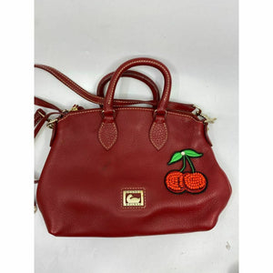 DOONEY & BOURKE Red Tote Crossbody Bag Customized w/ Applique Embellishment