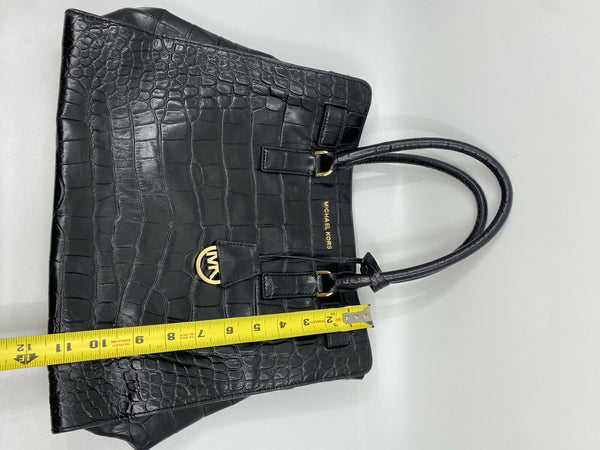 Michael Kors Hamilton Croc embossed large Tote Bag