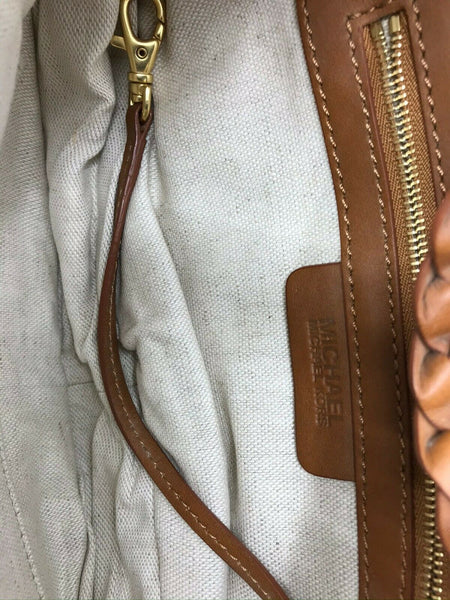 Michael Kors Small Brown Leather Mini Purse
