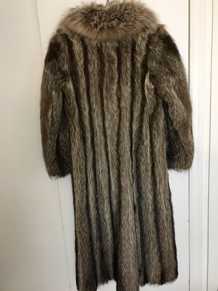 Fur Coat Long, size Small