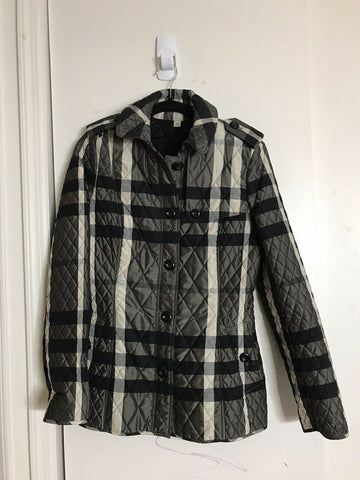 BURBERRY Women's Plaid Jacket size 6