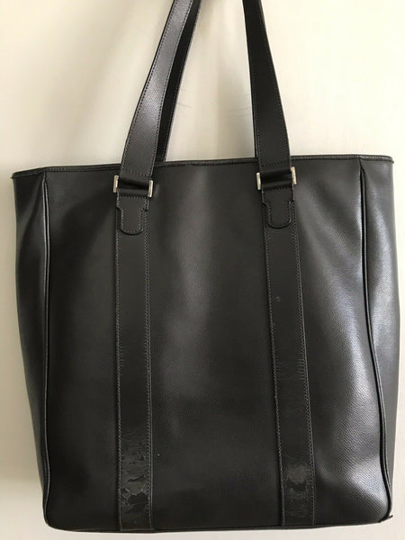 Salvatore Ferragamo Unisex Brown Leather Tote