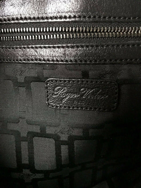 "ROGER VIVIER Messenger Bag Customized W/ ""JPO"" John Paul O'Grodnick Graffiti"