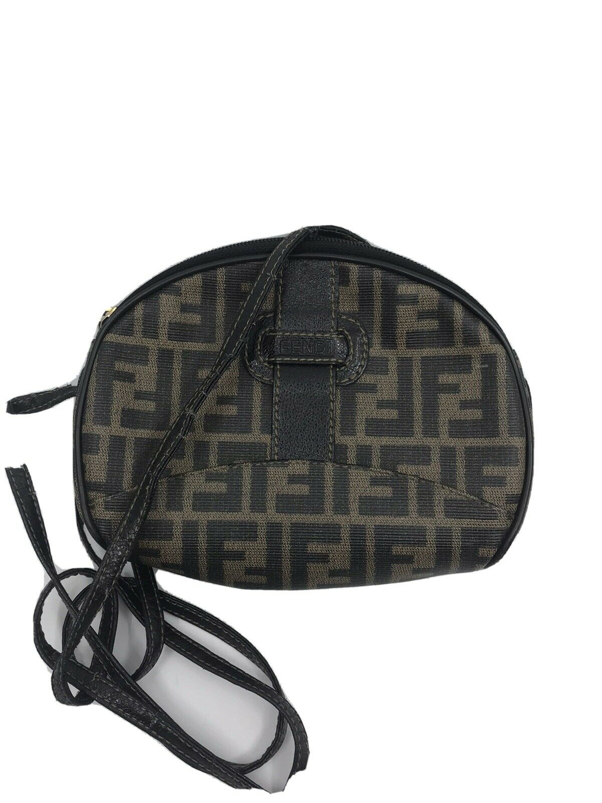 FENDI Vintage All over logo small crossbody