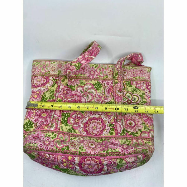 VERA BRADLEY Quilted Tote Bag w/ Wallet, customized and Bedazzled
