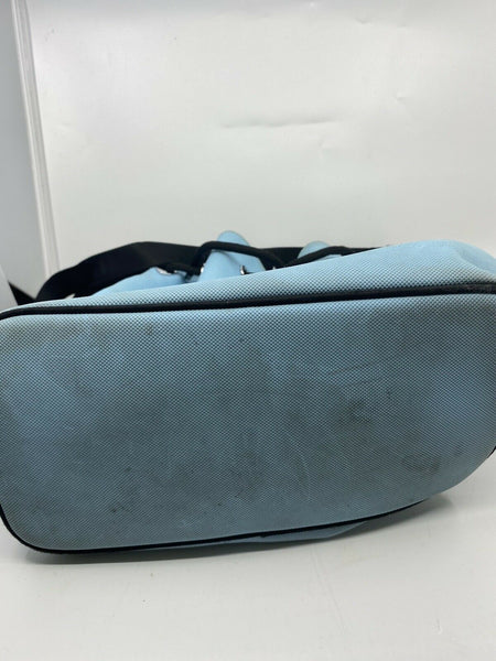 Lacoste Blue Nylon Bucket Bag