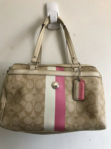 Coach Coated Canvas Shoulder Bag