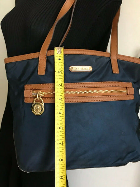 Michael Kors Fabric/Leather Tote