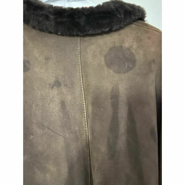 BLUE DUCK Shearling Jacket Small Made in USA Msrp 1,300