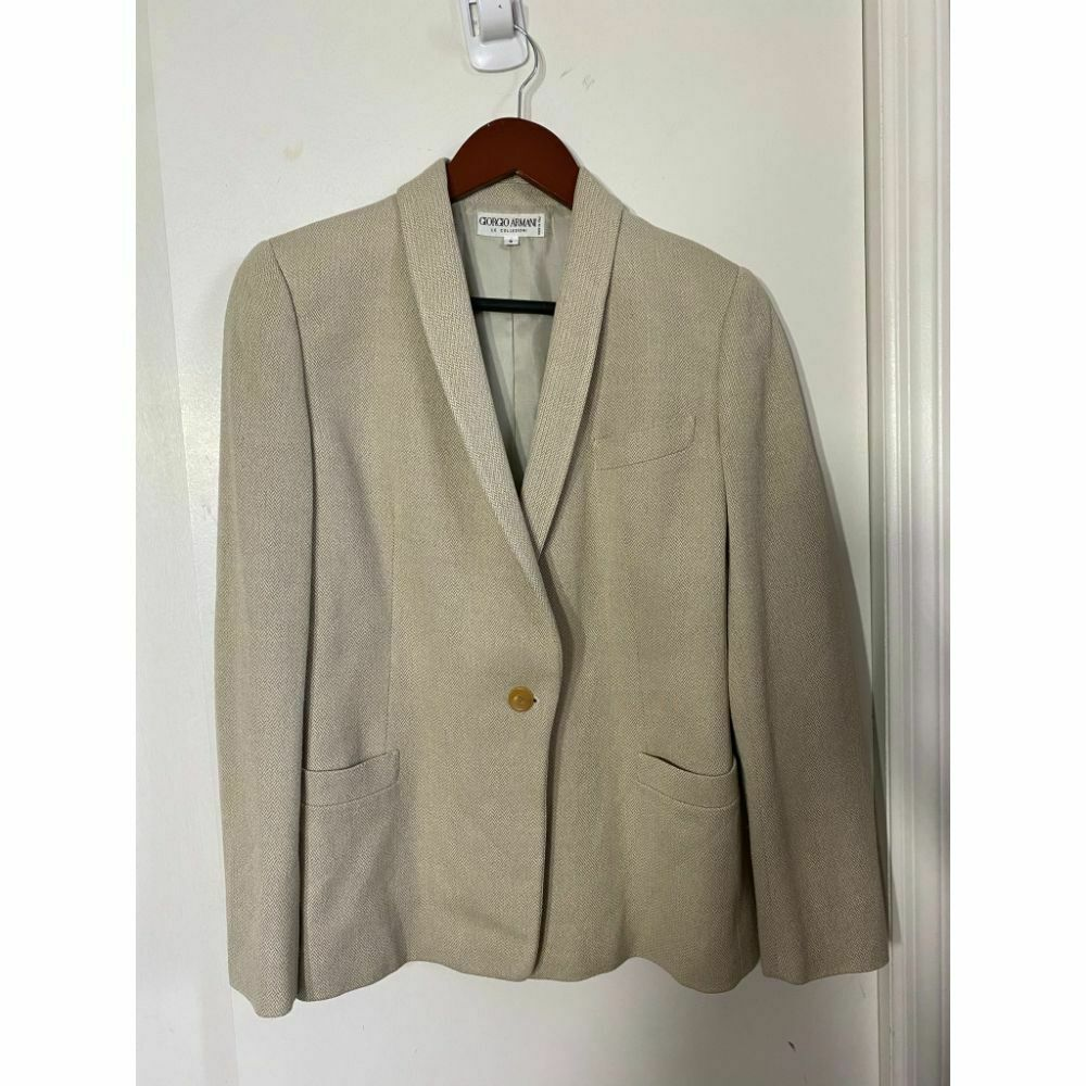 GIORGIO ARMANI Women's Career Jacket Size 6 Msrp 1,500