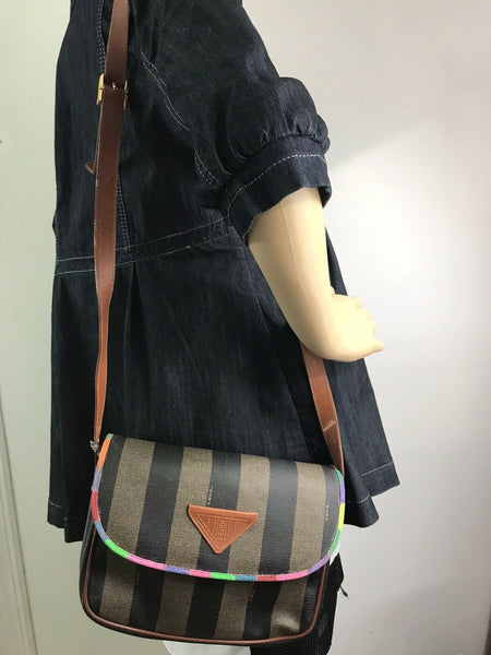 FENDI Vintage Customized Flap Over Crossbody Bag