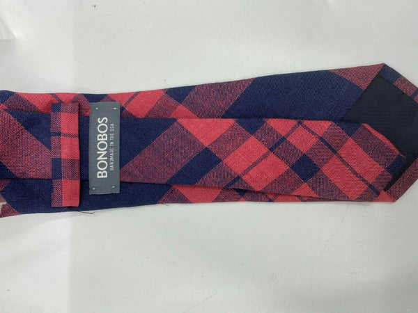 NWT BONOBOS Neck Tie Plaid Great for Spring MSRP 98