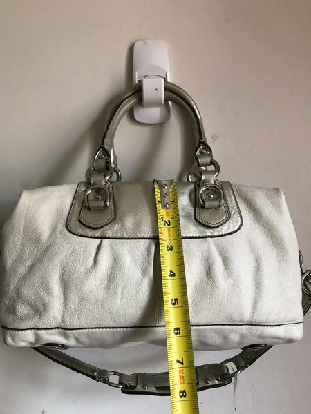 Coach shoulder bag - White Leather