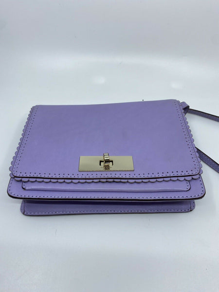KATE SPADE Lavander leather crossbody
