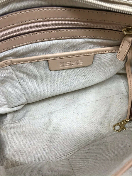 Michael Kors Large Coated Canvas Tote Bag