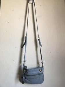 Marc Jacobs Baby Blue Leather Crossbody Mini