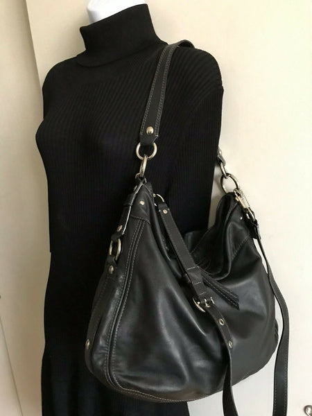 Coach cross body bag - Black Leather